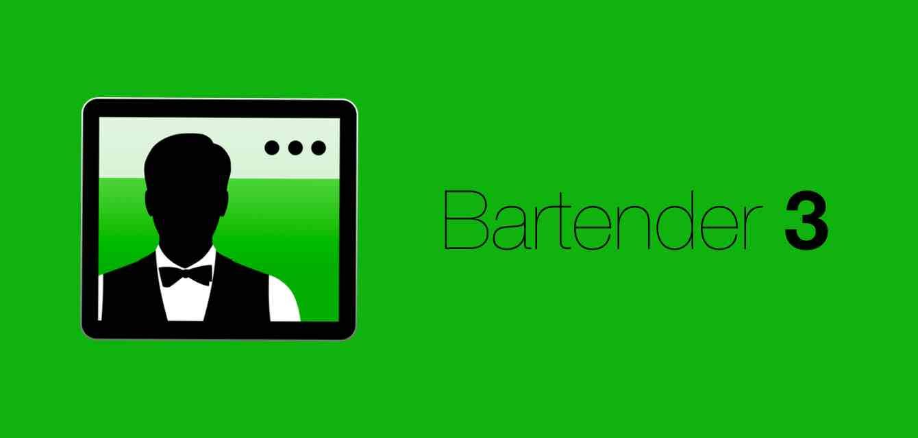 「Bartender 3」Mac菜单栏自定义工具,让你的Mac菜单栏不再乱糟糟